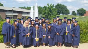 Career Advising helped guide graduates through medical assistant training and medical office administration training in Irwin, PA